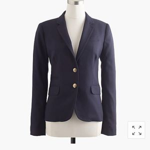 Jcrew navy blue school boy blazer 6